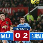 Manchester United Dipermalukan Burnley Di Old Trafford